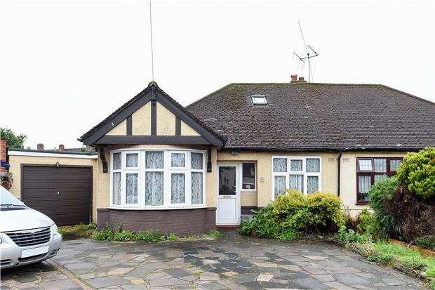 2 Bedrooms Semi Detached Bungalow for sale in Hammond Avenue, MITCHAM, Surrey, CR4