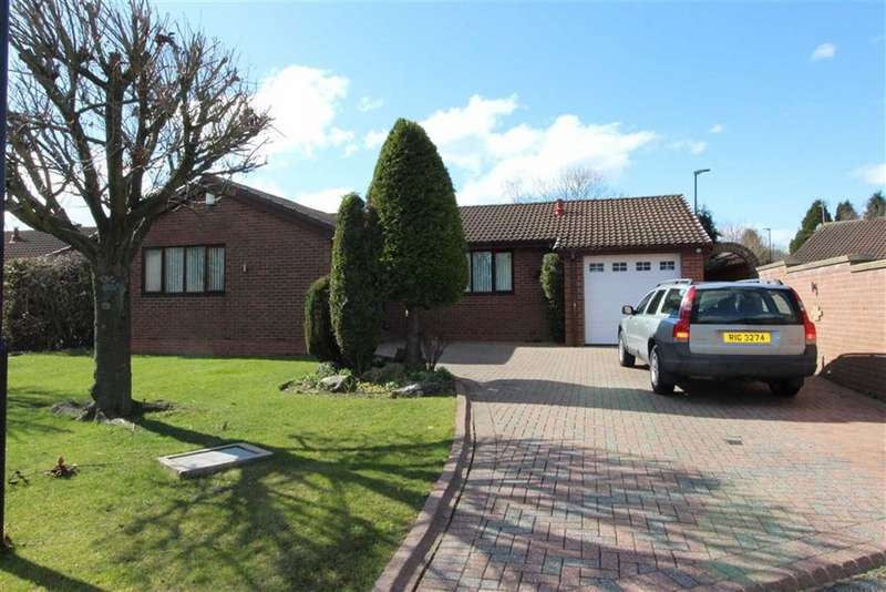 3 Bedrooms Detached Bungalow for sale in Silloth Drive, Usworth, Washington