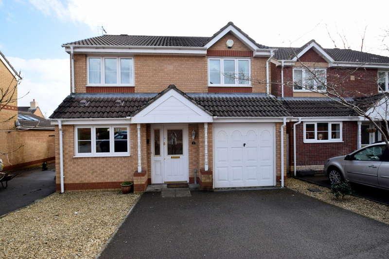 4 Bedrooms Detached House for sale in 9 Hill Court, Broadlands, Bridgend, Bridgend County Borough, CF31 5BX