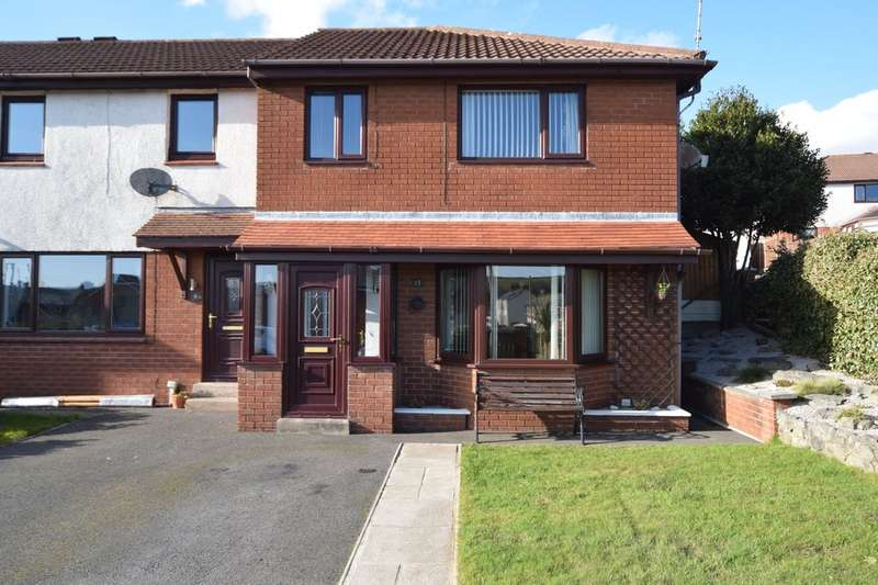 3 Bedrooms End Of Terrace House for sale in Mouzell Bank, Dalton-in-Furness, Cumbria, LA15 8UB