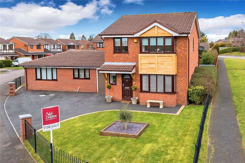 4 Bedrooms Detached House for sale in 15 Redburn Close, Ketley Bank, Telford, Shropshire, TF2