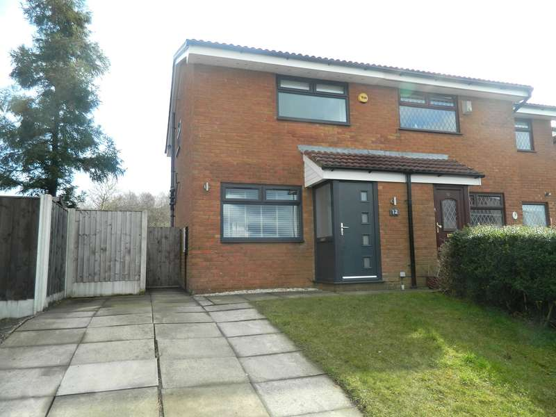2 Bedrooms Semi Detached House for sale in Cornfield Close, Bury, BL9