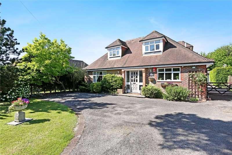 4 Bedrooms Detached House for sale in Luddington Avenue, Virginia Water, Surrey, GU25