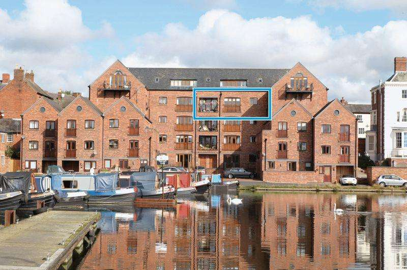 2 Bedrooms Apartment Flat for sale in Waterfront View, Stourport-On-Severn DY13 9BT