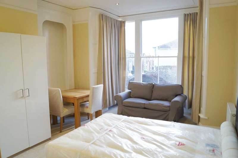 1 Bedroom Studio Flat for rent in Clouds Hill Road, St. George, Bristol