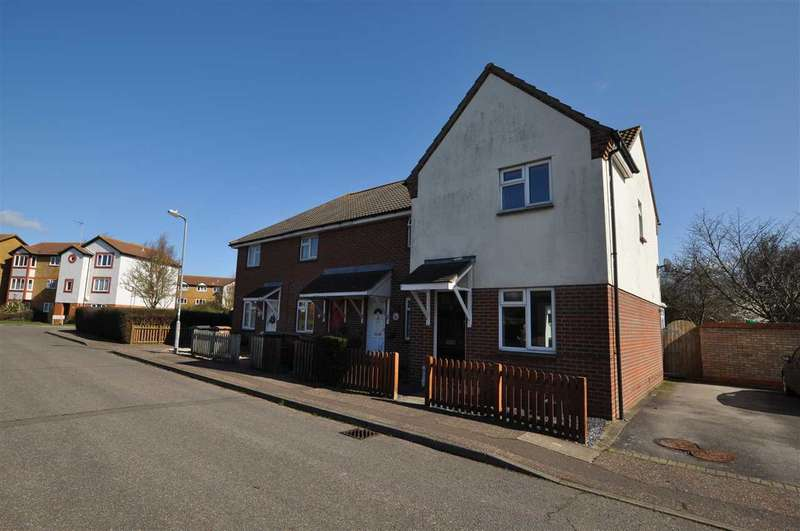 2 Bedrooms End Of Terrace House for sale in Ramshaw Drive, Chelmsford