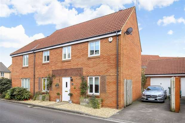 4 Bedrooms Semi Detached House for sale in Malin Parade, Portishead, Bristol