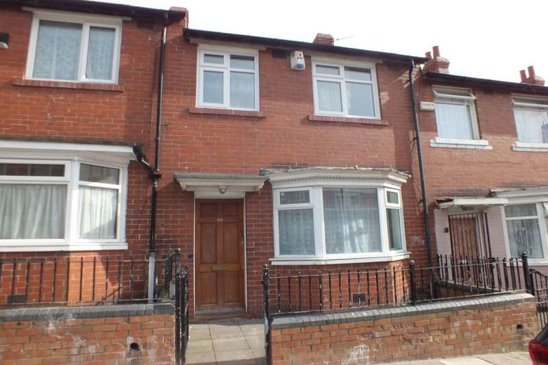 3 Bedrooms Terraced House for sale in Ladykirk Road, Newcastle Upon Tyne, NE4