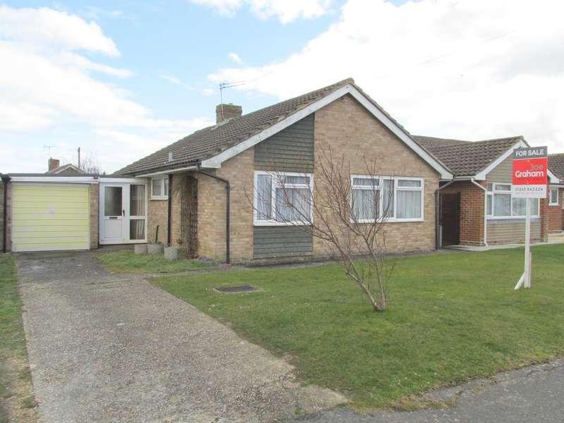 2 Bedrooms Bungalow for sale in Churchill Avenue, West Meads, Bognor Regis, West Sussex, PO21 5QQ