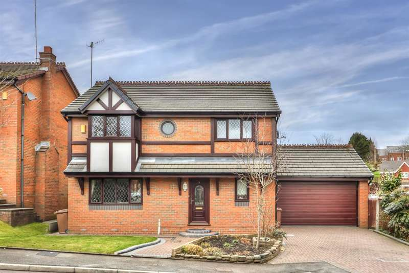 4 Bedrooms Detached House for sale in Turnfield Close, Smallbridge, Rochdale, OL16 2QF