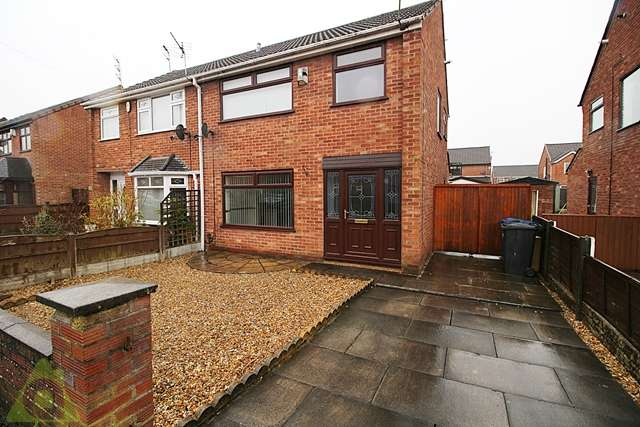 3 Bedrooms Semi Detached House for sale in Penshaw Avenue, Hawkley Hall, Wigan, WN3