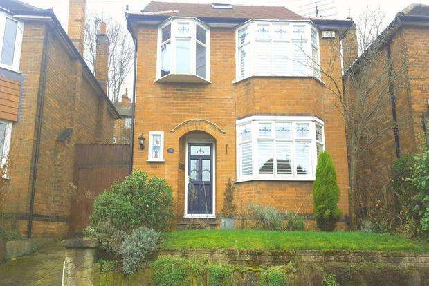 4 Bedrooms Detached House for sale in Newfield Road, Sherwood, Nottingham, NG5