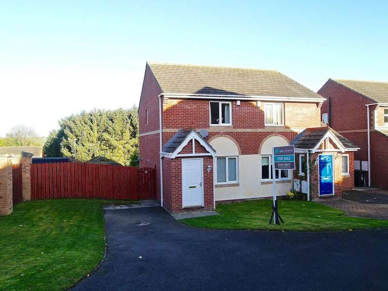 2 Bedrooms Semi Detached House for sale in Spetchells, Prudhoe