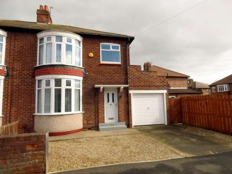 3 Bedrooms Semi Detached House for sale in Reeth Road, Hartburn, Stockton On Tees, TS18