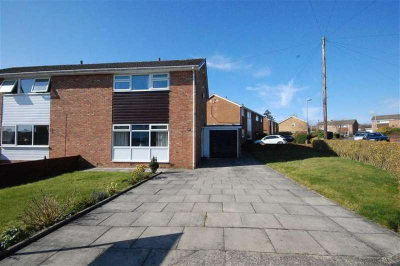 3 Bedrooms Semi Detached House for sale in Holmdene Drive, Mirfield, WF14