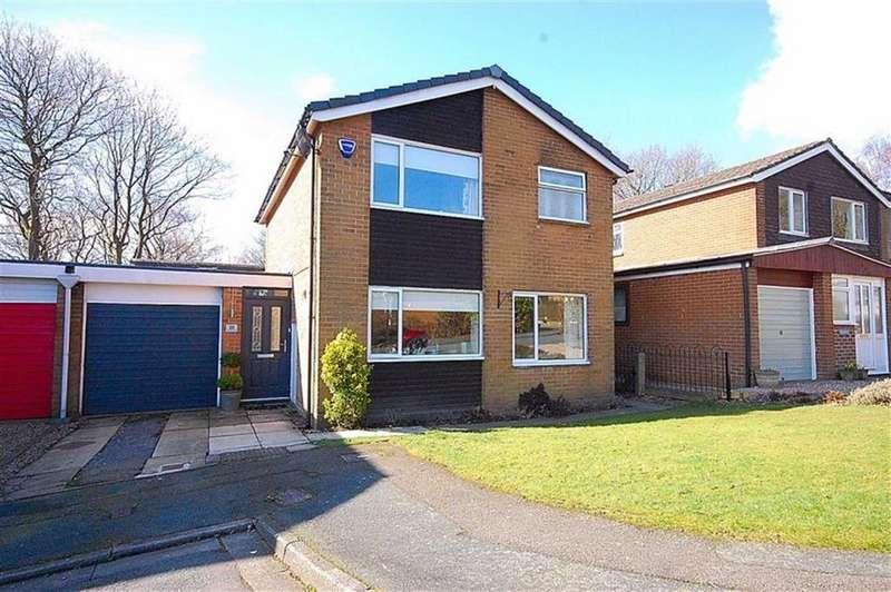 3 Bedrooms Link Detached House for sale in Huntsman Close, Beaumont Park, Huddersfield, HD4