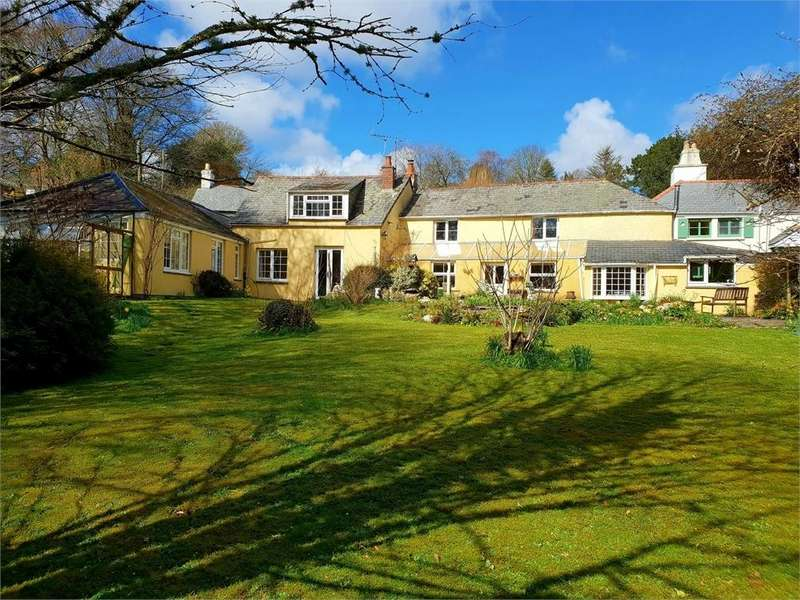 5 Bedrooms Detached House for sale in Stepping Stones, Lerryn, Cornwall