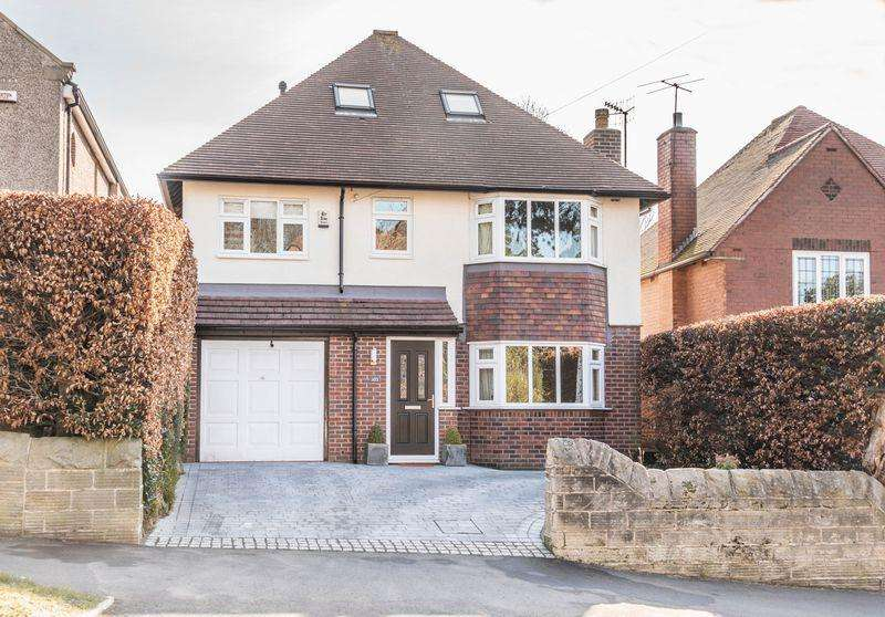 4 Bedrooms Detached House for sale in Button Hill, Ecclesall, S11 9HG - Exclusive Detached Family Home