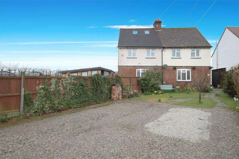 2 Bedrooms Semi Detached House for sale in Grove Road, Wickhambreaux