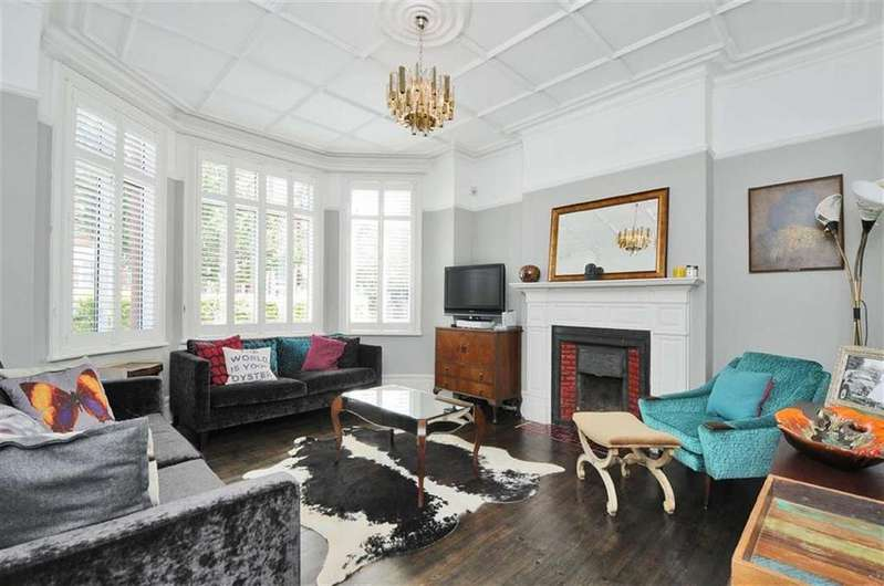 4 Bedrooms Detached House for sale in Hoveden Road, Mapesbury Conservation Area, London, NW2