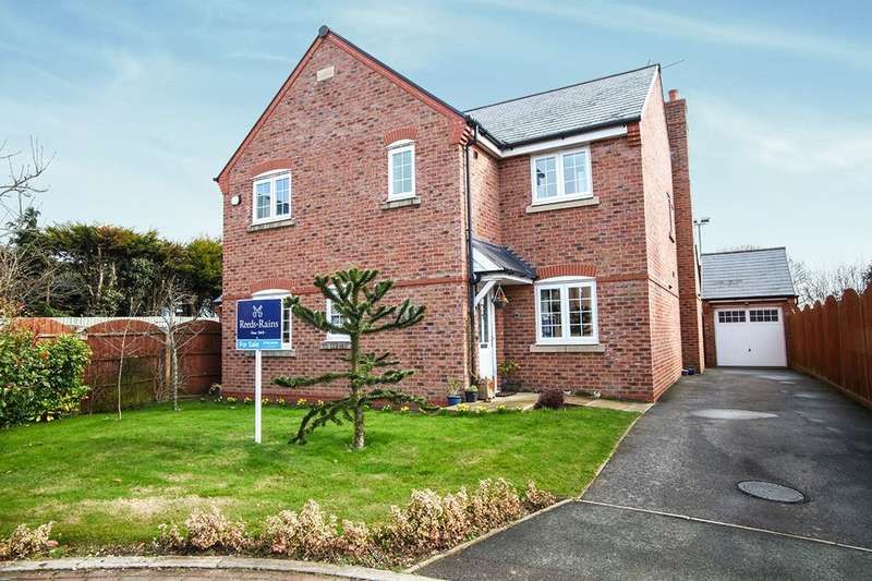 4 Bedrooms Detached House for sale in Church Close, Tilstock, Whitchurch, SY13