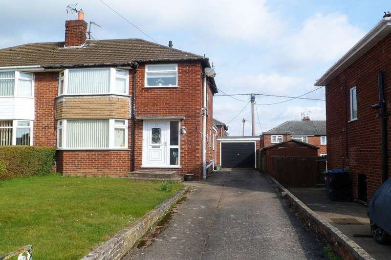 3 Bedrooms Semi Detached House for sale in Bangor Road, Johnstown, Wrexham, LL14