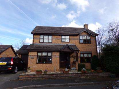 4 Bedrooms Detached House for sale in Parc Derwen, The Green, Denbigh, Denbighshire, LL16