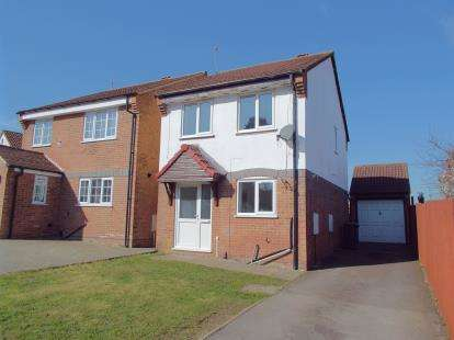 3 Bedrooms Detached House for sale in Bluebell Drive, Leicester, Leicestershire