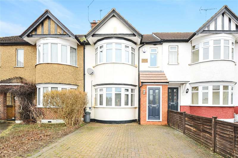 3 Bedrooms Terraced House for sale in Beverley Road, Ruislip, Middlesex, HA4