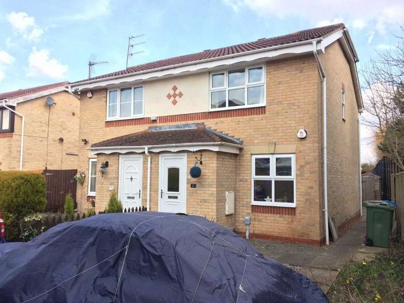 2 Bedrooms Semi Detached House for sale in Chapel Close, Hull Road, Hessle, HU13 9QE
