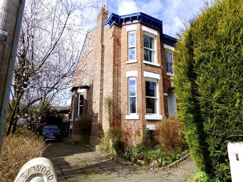 5 Bedrooms Semi Detached House for sale in Alan Road, Withington, Manchester, M20