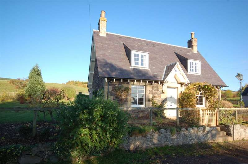 2 Bedrooms Detached House for sale in Linton Mill Cottage, Kelso, Scottish Borders, TD5