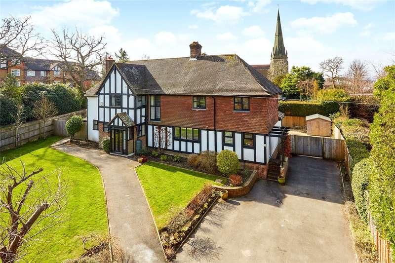 5 Bedrooms Detached House for sale in Kingswood Road, Tunbridge Wells, Kent, TN2