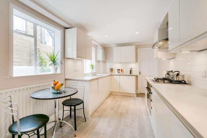 4 Bedrooms Terraced House for sale in Yeldham Road, Hammersmith, London