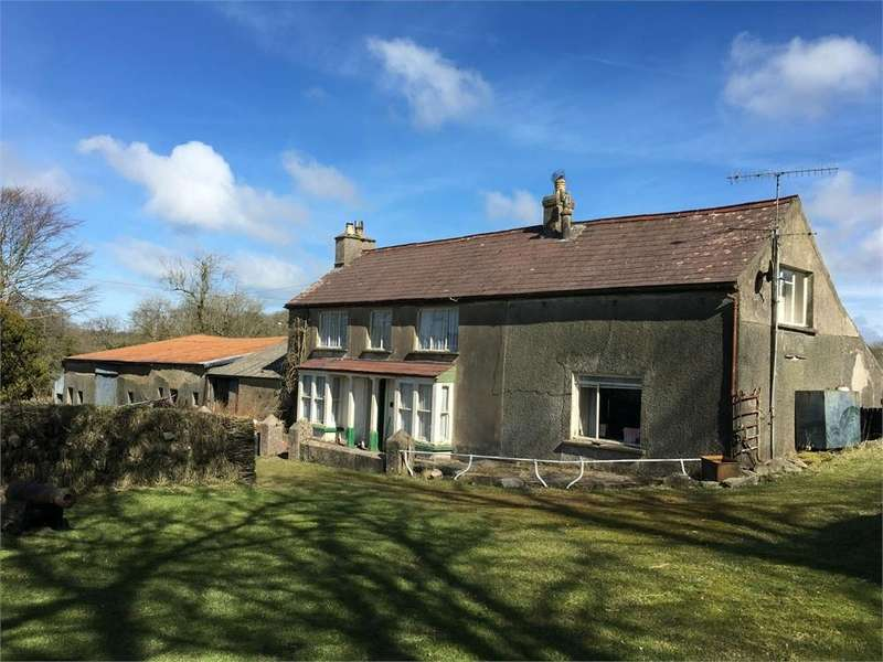 4 Bedrooms Farm House Character Property for sale in Meadow Lake, Dwrbach, Fishguard, Pembrokeshire