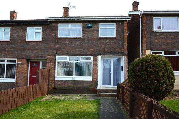 3 Bedrooms Semi Detached House for sale in KIDDERMINSTER SQUARE, DOWNHILL, SUNDERLAND NORTH