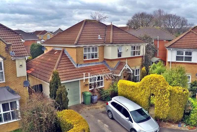 4 Bedrooms Detached House for sale in Shields Close, Pontprennau, Cardiff