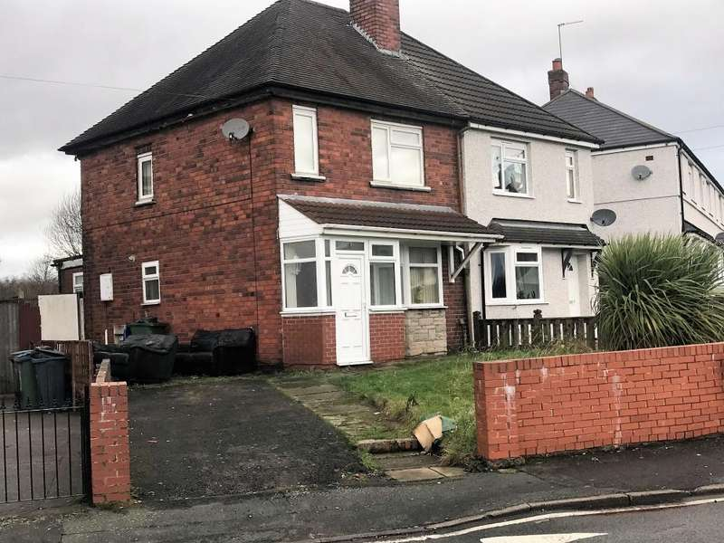 2 Bedrooms Semi Detached House for sale in , SYCAMORE RD, TIPTON, DY4