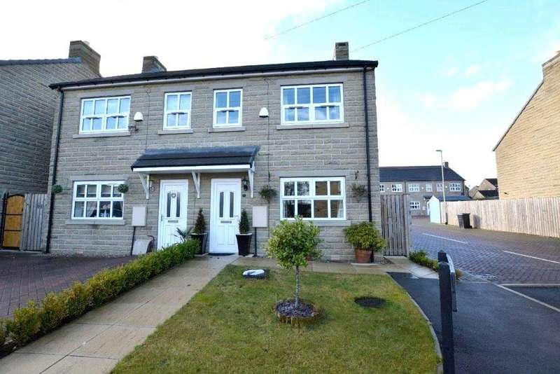 3 Bedrooms Semi Detached House for sale in Gladstone Terrace, Stanningley, Pudsey, West Yorkshire