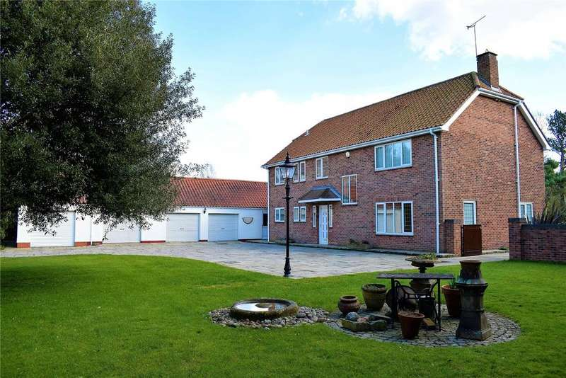 5 Bedrooms Detached House for sale in Church Street, Elsham, Brigg, North Lincolnshire, DN20
