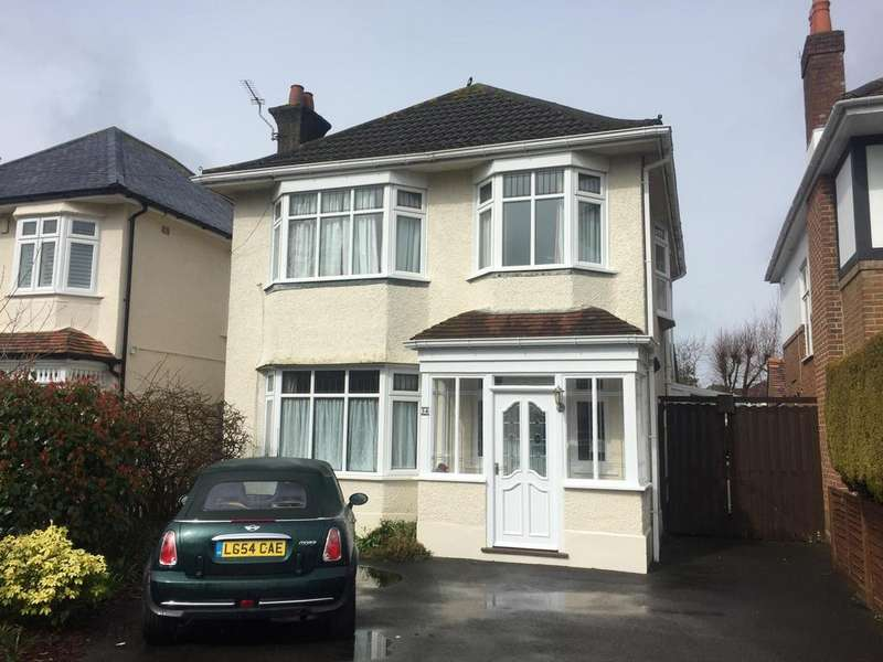 3 Bedrooms Detached House for sale in Ropley Road, Bournemouth, BH7