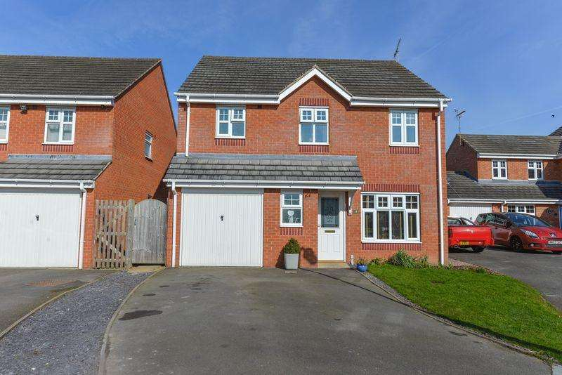 4 Bedrooms Detached House for sale in Darwin Close, Market Drayton