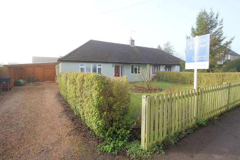 3 Bedrooms Semi Detached Bungalow for sale in Whitwell Way, Coton