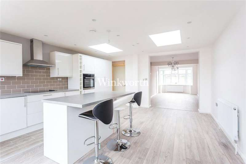 4 Bedrooms Terraced House for sale in Rayleigh Road, London, N13