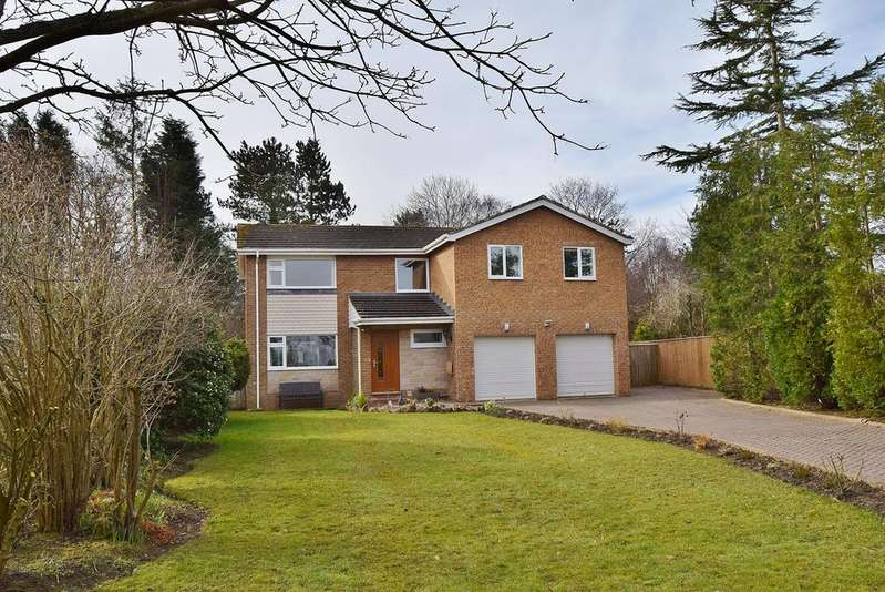 4 Bedrooms Detached House for sale in Ashdale, Darras Hall, Ponteland, Newcastle upon Tyne, NE20