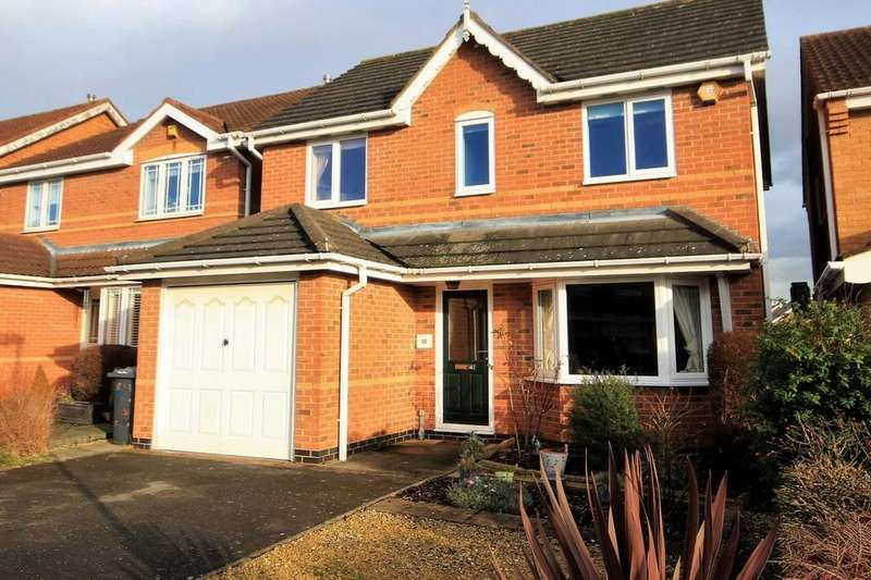3 Bedrooms Detached House for sale in Heavenside, East Leake