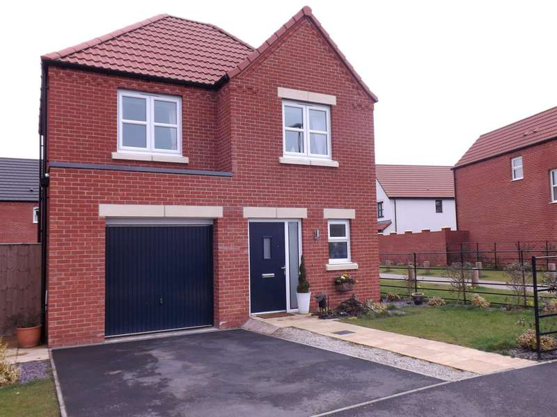 3 Bedrooms Detached House for sale in Poppyfields, The Edge Clowne, Chesterfield