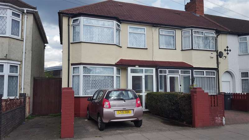 3 Bedrooms Semi Detached House for sale in Brent Rd, Southall,, Greater London