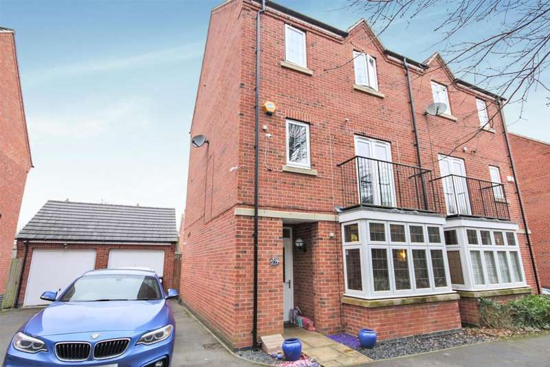 4 Bedrooms Detached House for sale in Discovery Close, Coalville