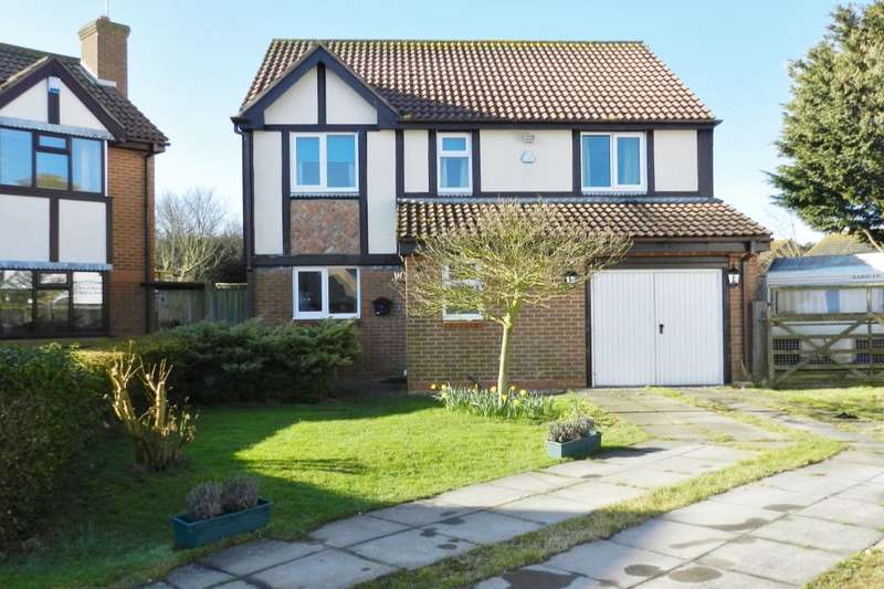 4 Bedrooms Detached House for sale in Cawkwell Close, Sutton-On-Sea, Mablethorpe, LN12